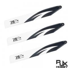 RJX 155mm Carbon Fiber Blades for Trio 180 CFX