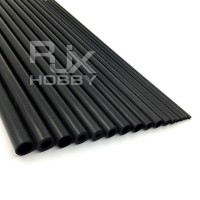 RJX 1pcs Hollow Carbon fiber tube Length 1000mm (OD 11-25mm)