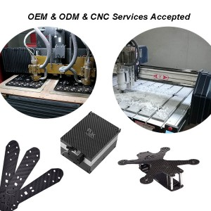 OEM CNC cutting frame