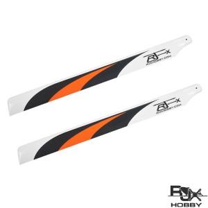 RJX Orange  600mm Premium CF Blades-FBL Version
