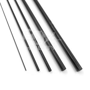 RJX 1pcs Carbon Fiber Solid Rods  Length 1000mm diameter 8.5-30mm
