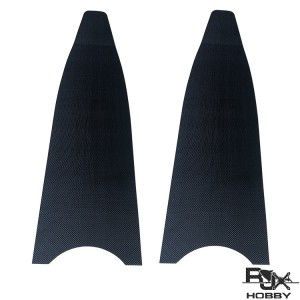 RJXHOBBY carbon fiber diving fins blades