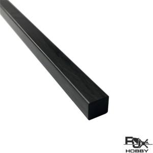 RJX 1pcs Carbon Fiber Square Solid Rods Length 1000mm diameter 2-13mm