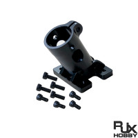 RJXHOBBY 16/18/20/25mm landing gear Multi axis uav parts aluminum alloy carbon tube connection foot mount fixing parts