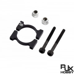 RJX 12/16/20/22/25mm Pipe clamps for carbon fiber tube/Aluminum tube clips carbon tube clip pipe clamp