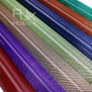 RJXHOBBY Carbon Fiber Aramid Cloth Fabric Twill Weave Panel Sheet