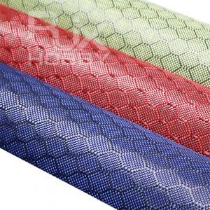RJX 3K 240g 0.30mm Aramid Honeycomb Fabric football grain carbon fiber cloth